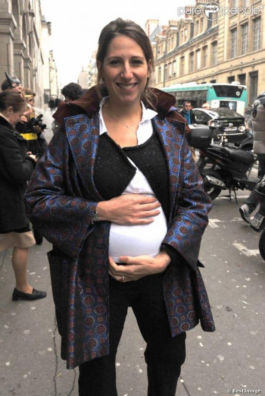 Les futures mamans françaises et belges s'arrondissent!