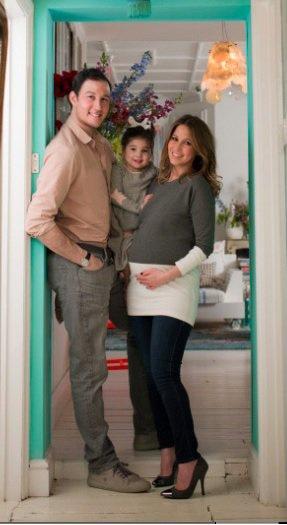 Rachel Stevens pose enceinte de 7 mois!