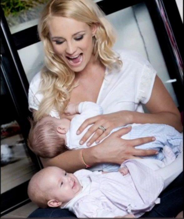 Pr sentation de jos phine l onard lach rie les c l brit s enceintes et leurs enfants - Elodie gossuin et bertrand lacherie ...