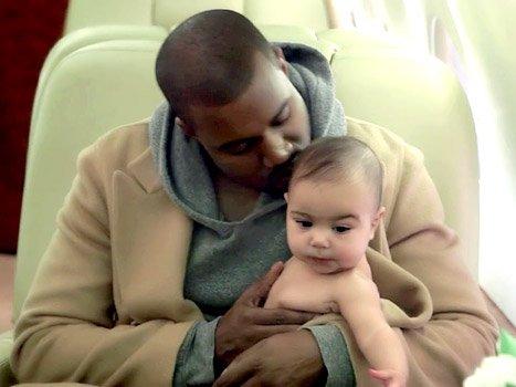 Famille West-Kardashian!