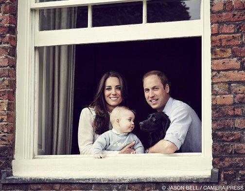 Le Prince George à 8 mois!