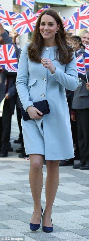 Duchesse Catherine de Cambridge enceinte de 6 mois!