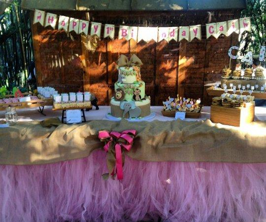 Shanola Hampton fête les 1 an de Cai!