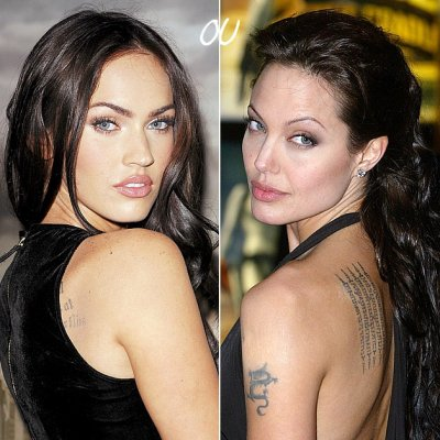 Megan Fox OU Angelina Jolie