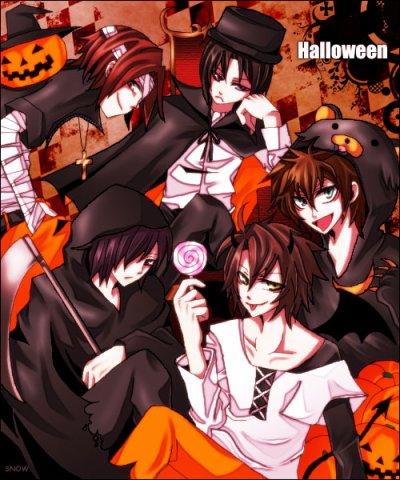 Shinsengumi, déguisements et Halloween - Partie 2
