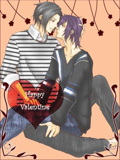 Hijikata x Saito version St Valentin