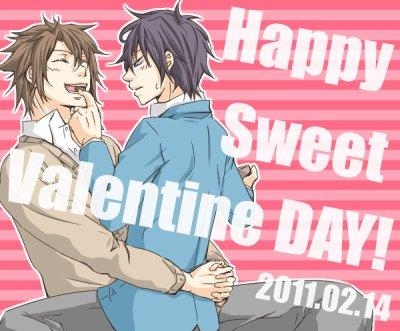 Okita x Saito version St Valentin