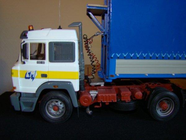 Iveco turbostar avec savoyarde deux essieux PTRA 38 Tonnes