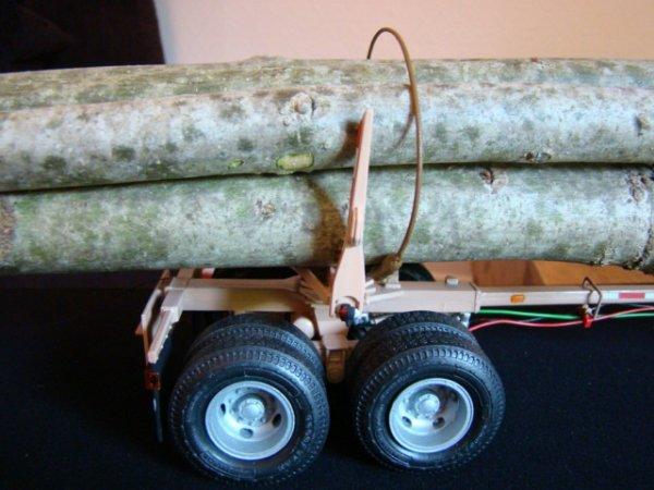 Semi grumier 2 essieux
