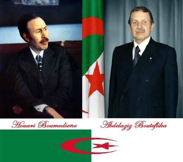 HouaRi BouMedieN / Abdelaziz Bouteflika