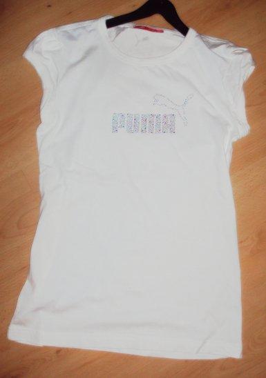 Tee shirt blanc PUMA
