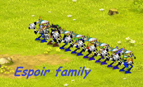 espoir family !)