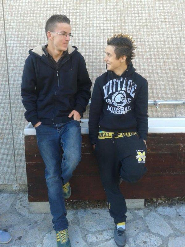 moi et mi hermano