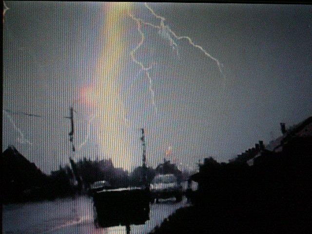 Les orages et la météo.
