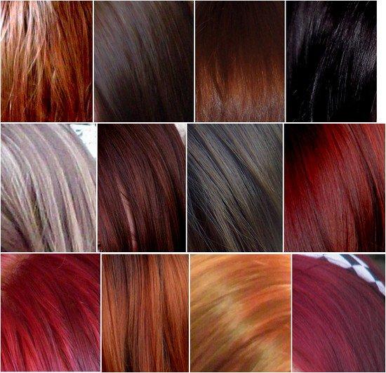 essais capillaires - Coloration Cheveux Bordeau