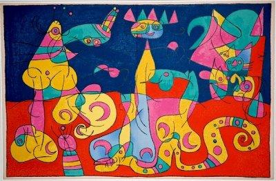 Peinture De Joan Miro Ubu Roi Blog De Tpe Surrealisme