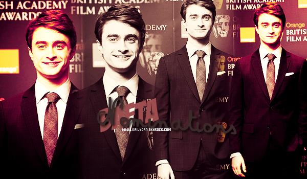*  BAFTA NOMINATIONS____ ; Daniel était présent aux  British Academy Film Awards 2012 - Nominations + l'avant première de The Woman In Black en France aura lieu le 7 Férvier, et Dan sera bel et bien présent sur le sol Parisien !  *