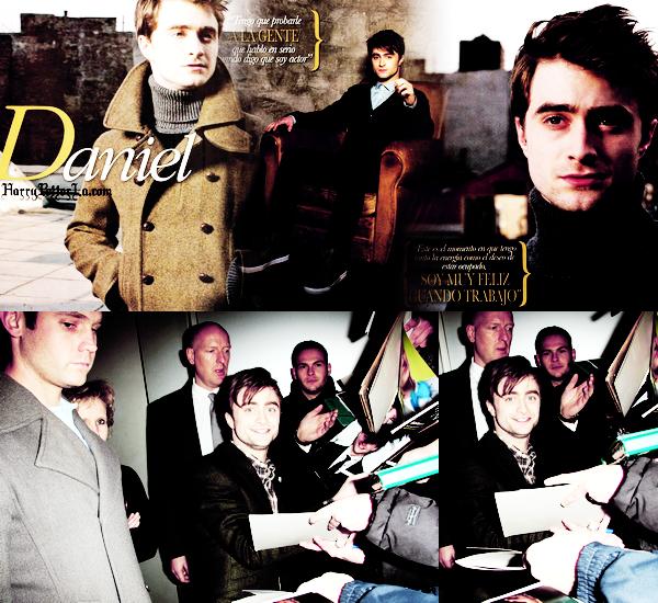 *  PHOTOCALL____ ; Pleins de nouveautés ! Daniel était a Munich, en Allemagne, hier (le 20 Janvier) pour __________ ____  le photocall de The Woman In Bmack (promotion), puis a  signé des autographes *