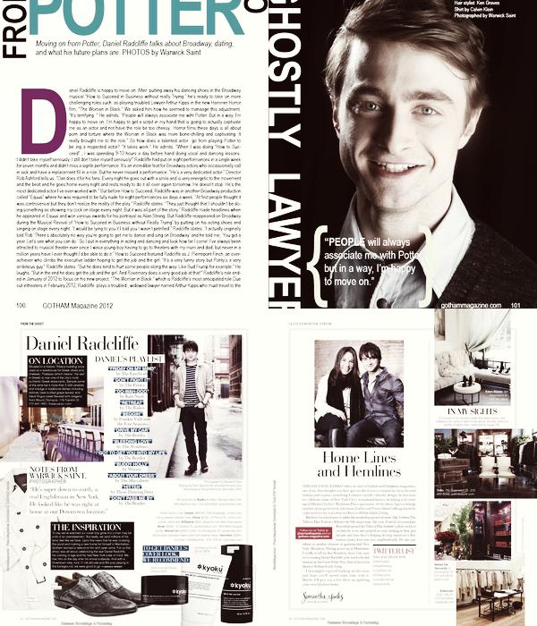 *  MAGAZINES____ ; Daniel dans les magazines Gotham, 15a20 et J-14 !+ deux Dan avec George Stroumboulopoulos  et au New Music Live  à Toronto !*