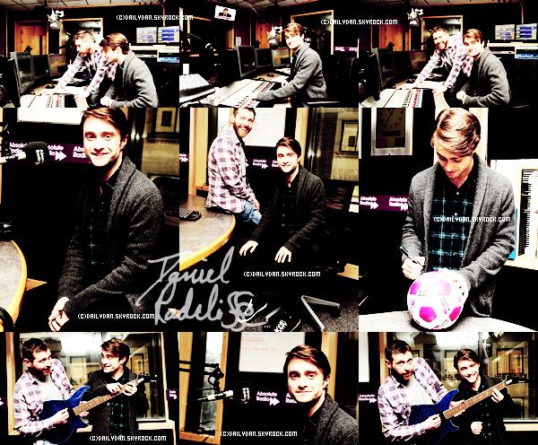 *   RADIO____ ; Daniel continue le tour des Radios.  Photos de son arrivée à BBC radio et à AbsoluteRadio ! + Hier, dans 100 % Mag, nous avons put avoir un reportage sur Daniel !  *