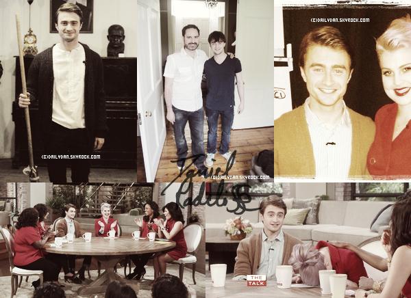 *  PHOTOSHOOTS____ ;Un nouveau photoshoot de Ryan Szluc. + Daniel à  The Talk, une photo avec la présentatrice et deux autres photos  *