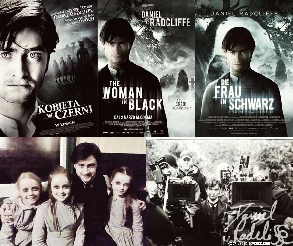 .  Plusieurs nouveaux photoshoots tirés d'une série sortie il y a quelques temps et trois nouvelles affiches pour La Dame En Noir !  .