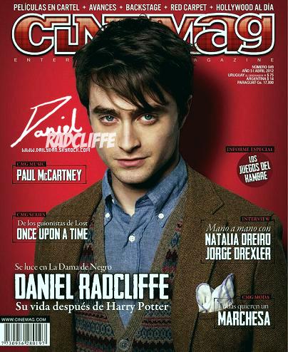 .  Daniel en couverture du magazine cinemag Uruguay  et une vidéo de TF1 pour les studios Harry Potter où l'on peut voir une petite interview .