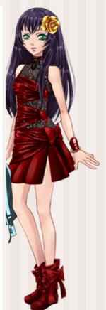 Les tenues de Maria ( partie 1 )