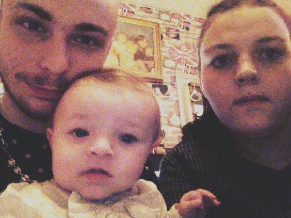 Ma fille moi et monj homme <3