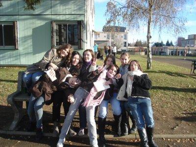 Mes amies , je les adores et ouais !!!!