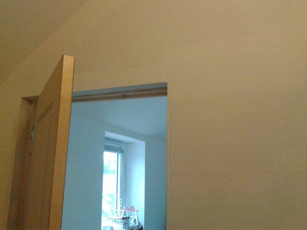 palier haut bande placo et sous couche avant d 39 attaquer l 39 enduit color blog de. Black Bedroom Furniture Sets. Home Design Ideas