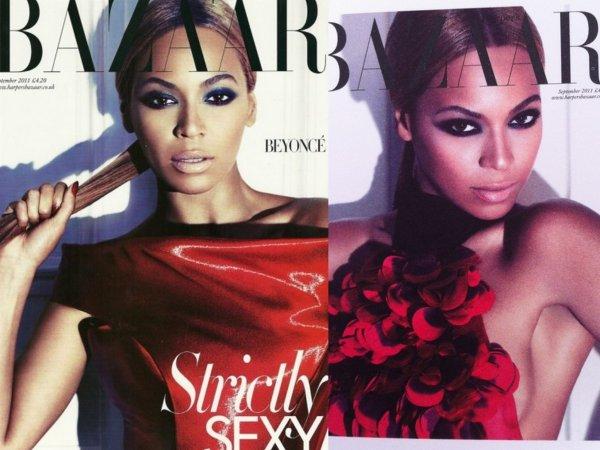 Beyonce pose pour le magazine Britannique Harper's Bazaar