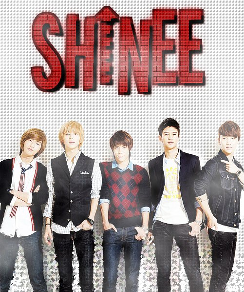 GROUPE 1 : SHINee