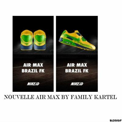 Air max fk brazil 77!!!! Sponso par NIKE!!!