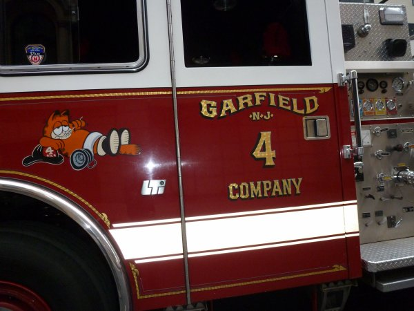 departement des pompiers de Garfield new jersey