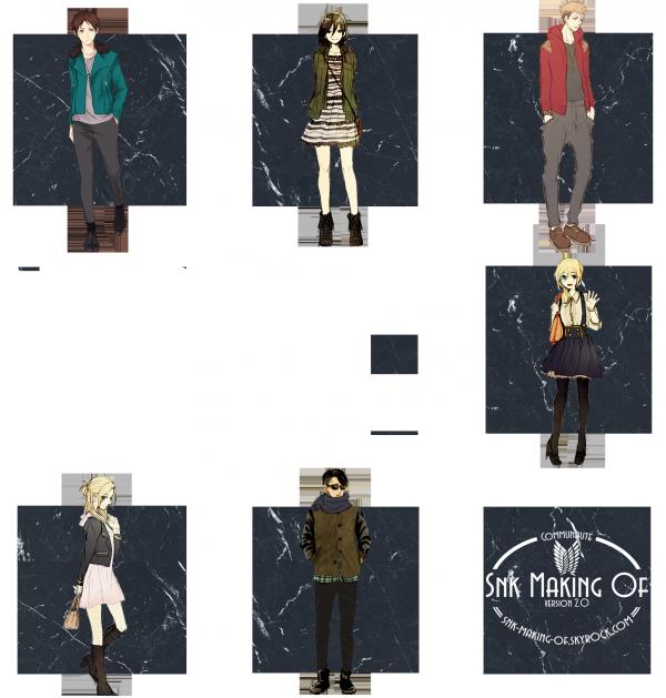 Inscriptions & Personnages