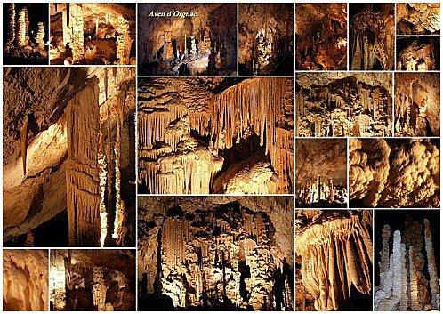 de nombreuse grotte a visité l'avent d'orgnac ,la cocalière,la salamandre,le trabuc,les demoiselle est bien d'autre