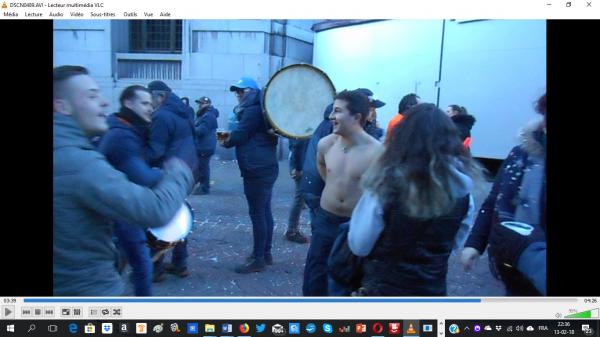 carnaval de Charleroi 2018 tu na pas froid