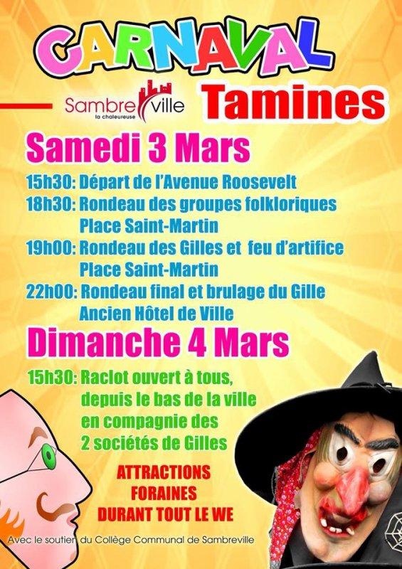 Le carnaval de Tamines 2018