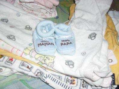 Le bébé de sa maman et son papa