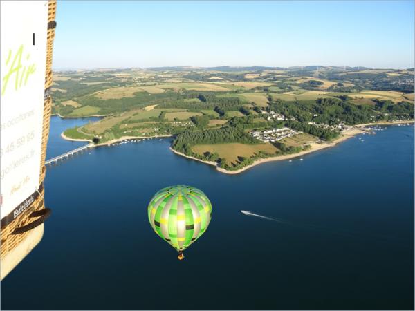 Présentation des vols en montgolfière dans l'Aveyron, entre Rodez et Millau