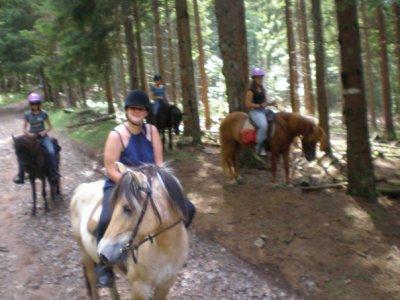 Ballade à cheval au champ du feu ! Tout juste innoubliable