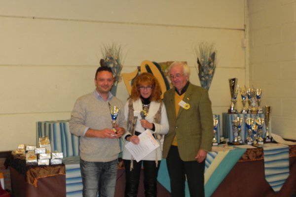 Femelle corona 3/4 vert : BEST CHAMPION ADULTE 2013