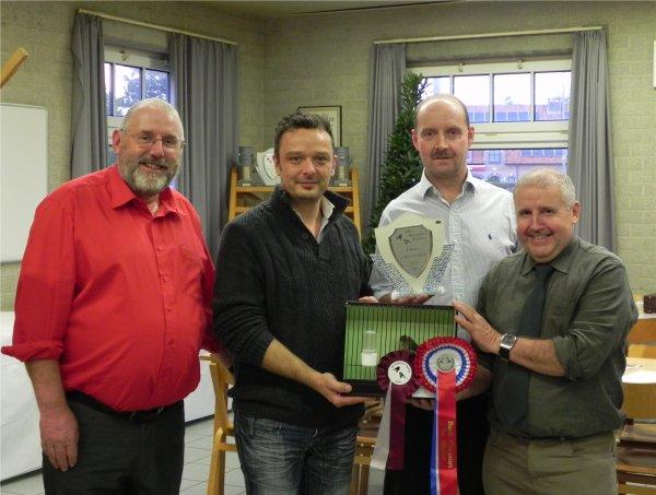 """Best Champion Gloster Opposite Head au """"One Day Gloster show de Olen 2013"""""""