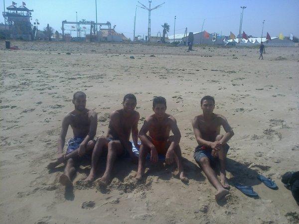 Avec mes amis a malabata