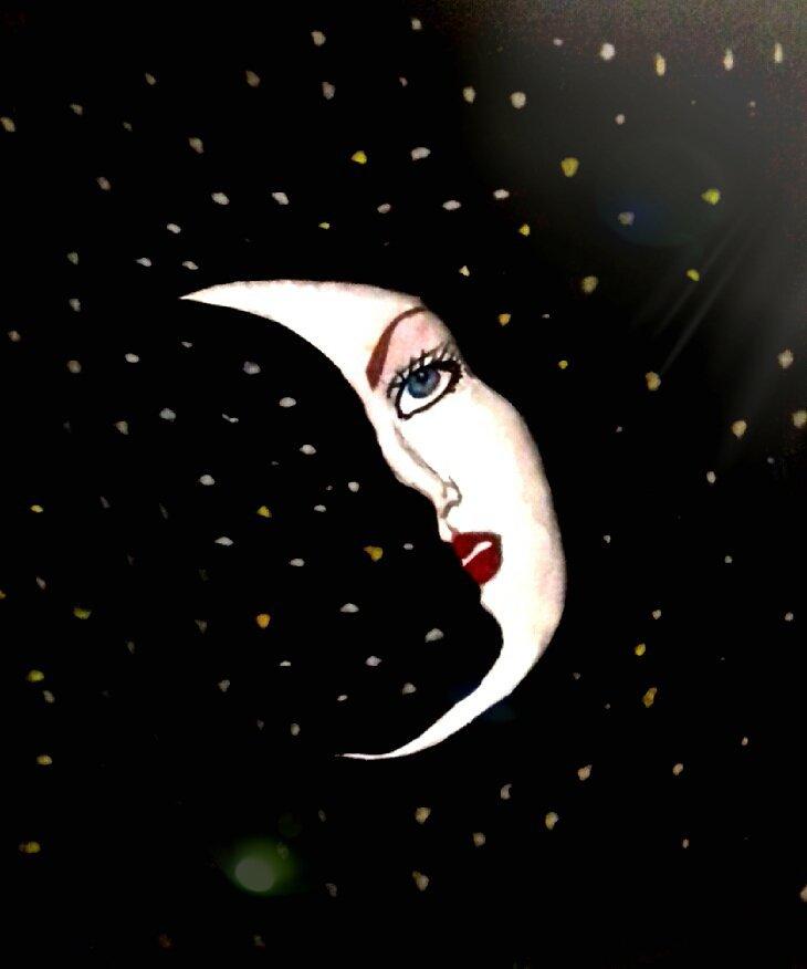 Sourire de lune ...