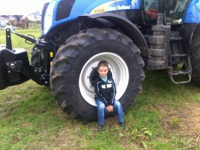 Expo de matériels agricole a Tincques