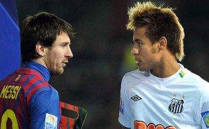 Neymar. « Lionel Messi est le meilleur joueur du monde »