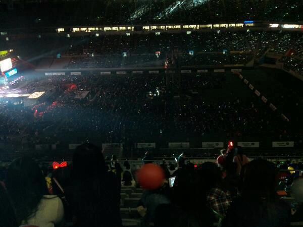 Un ÉNORME black ocean pour les T-Ara au Dream Concert 2013