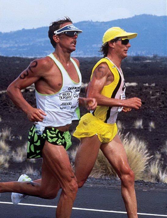 Triathlètes légendaires de l'Ironman